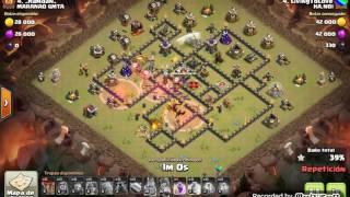Th9 vs Th9: GoVaLaLoon (LivingToLove - HA.NOI - Clash Of Clans)