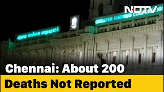 COVID-19 Tamil Nadu Update | Unreported COVID-19 Deaths In Chennai Could Double The City's Count