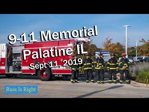 9 -11 Memorial Service -  Palatine Illinois 2019