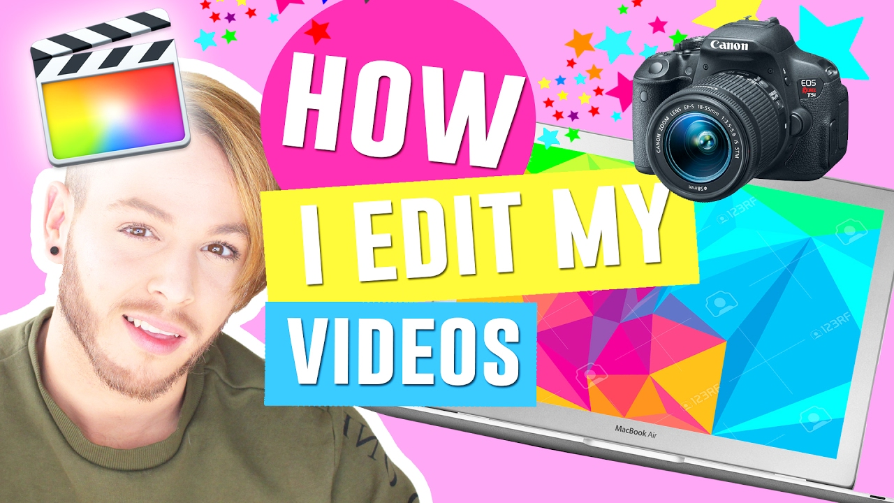 How I Edit My Videos On Final Cut Pro  How To Edit Videos For Youtube For  Beginners