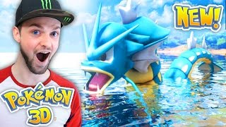 CAN WE CATCH THE BIGGEST POKEMON?! - (Pokemon 3D #2)