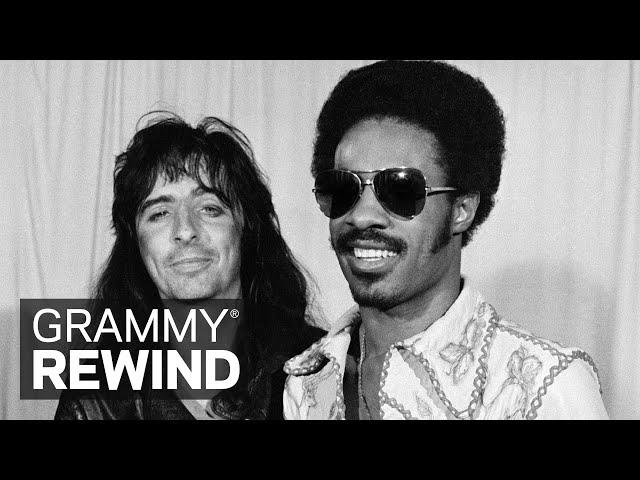 Watch Stevie Wonder Take Home Album Of The Year For 'Innervisions' In 1974 | GRAMMY Rewind