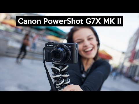 Canon PowerShot G7 X Mark II | hands on this great VLOGGING camera | english review