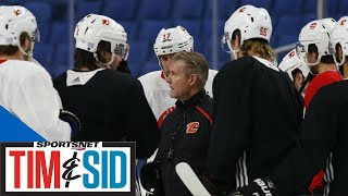 Flames Players Trying To Focus On Hockey As Bill Peters Situation Continues   Tim and Sid