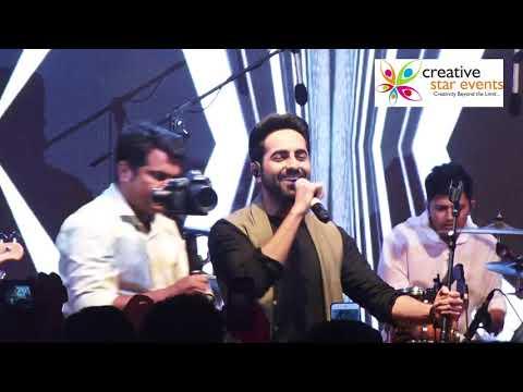 Ayushmann Khurana    Live Performance    Pani Da Rang    Mp3