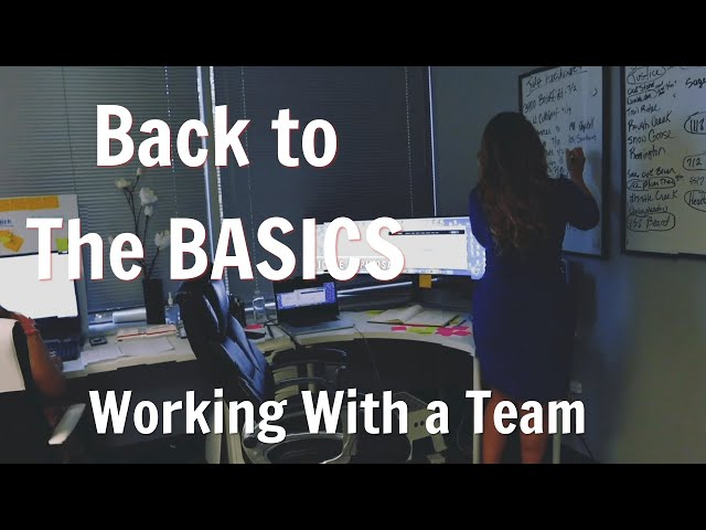 Back To The Basics - Working With A Team | Nicole Espinosa EP  34