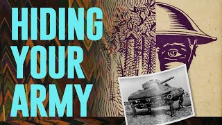 Hiding your Army | Military Camouflage | The Tank Museum