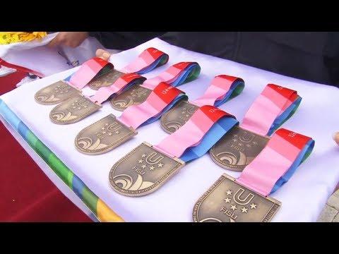 12th World University Rowing Championship 2012 - Kazan - Russia - Final