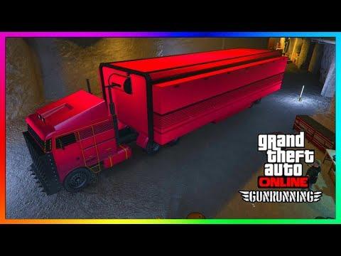 """GTA 5 Online - MOC's (Mobile Operation Center) EXPLAINED! - """"GTA 5 ONLINE GUN RUNNING DLC"""""""