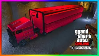 "GTA 5 Online - MOC's (Mobile Operation Center) EXPLAINED! - ""GTA 5 ONLINE GUN RUNNING DLC"""