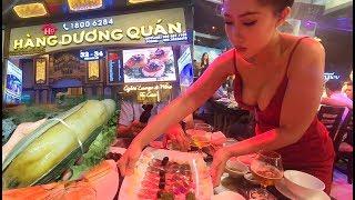 Ghé Hàng Dương Quán gọi 200 món ăn và ngắm hot girl