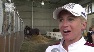 Gambar cover EQ LIfe Live TV interviews Amanda Ross at Exhibition Eventing Royal Melbourne Show 2013