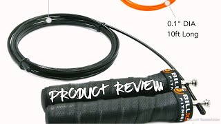 5BILLION Speed Jump Rope - Natural Handle - Adjustable with Ball Bearings - Product Review