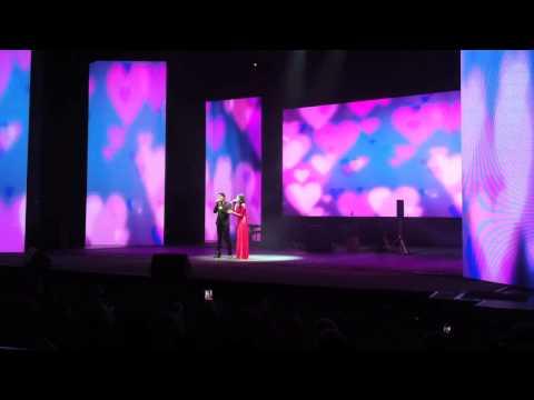 Aliff Aziz & Aisyah Aziz AF - Terlanjur Cinta @ Rentak Singapura 2014
