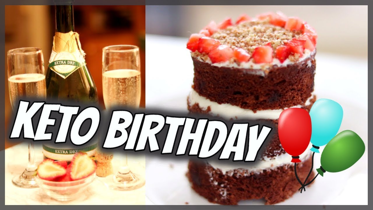 Almond Flour Cake Keto Chocolate Birthday Cake Day 29 Youtube
