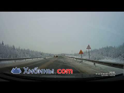 ДТП под Оленегорском на трассе
