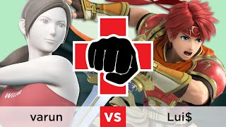 Combat for a Cause: Mental Health - Winners SF: varun (Wii Fit Trainer) vs. Lui$ (Roy)