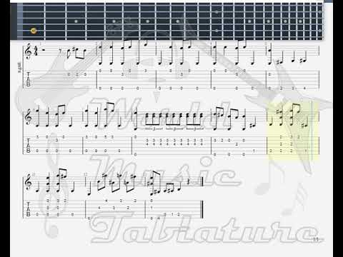 Jonkers, Will   12 Bar Blues GUITAR TAB