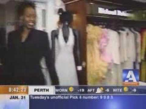 (PART 2) TV show live from Richard Robinson boutique