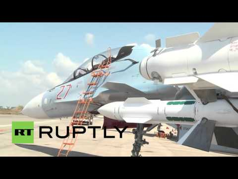 Syria: Russian Su-27 prepped for another round of anti-terror airstrikes