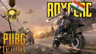 PUBG LITE LIVE| OP GAMEPLAY| LETS AIM FOR 4 KA KDR | FORTNITE LATER?