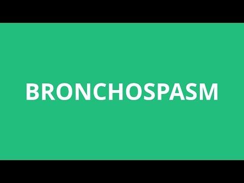 How To Pronounce Bronchospasm - Pronunciation Academy