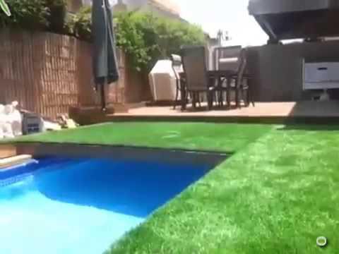 Amazing Underground Pool In The Backyard