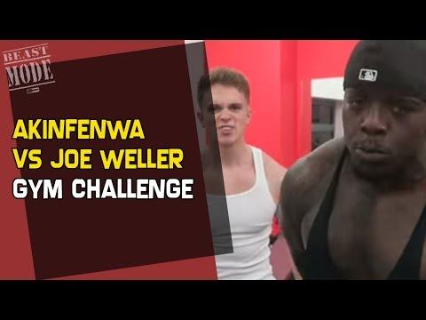Akinfenwa vs Joe Weller - Gym Challenge
