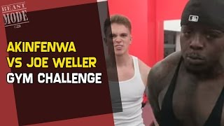 Akinfenwa vs Joe Weller - Gym Challenge