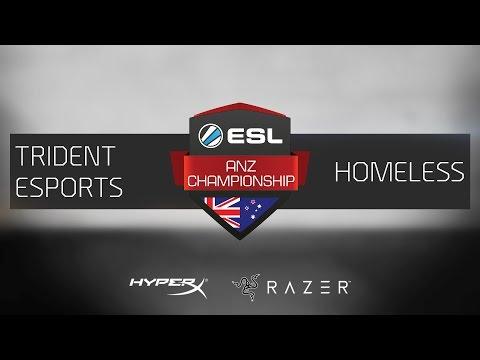 CS:GO - TRIDENT Esports vs. Homeless [Cache] - ESL ANZ Championship - Cup 1 - Grand Final