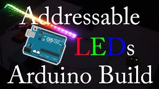 100 Addressable LED Lights Arduino Build (Quick)
