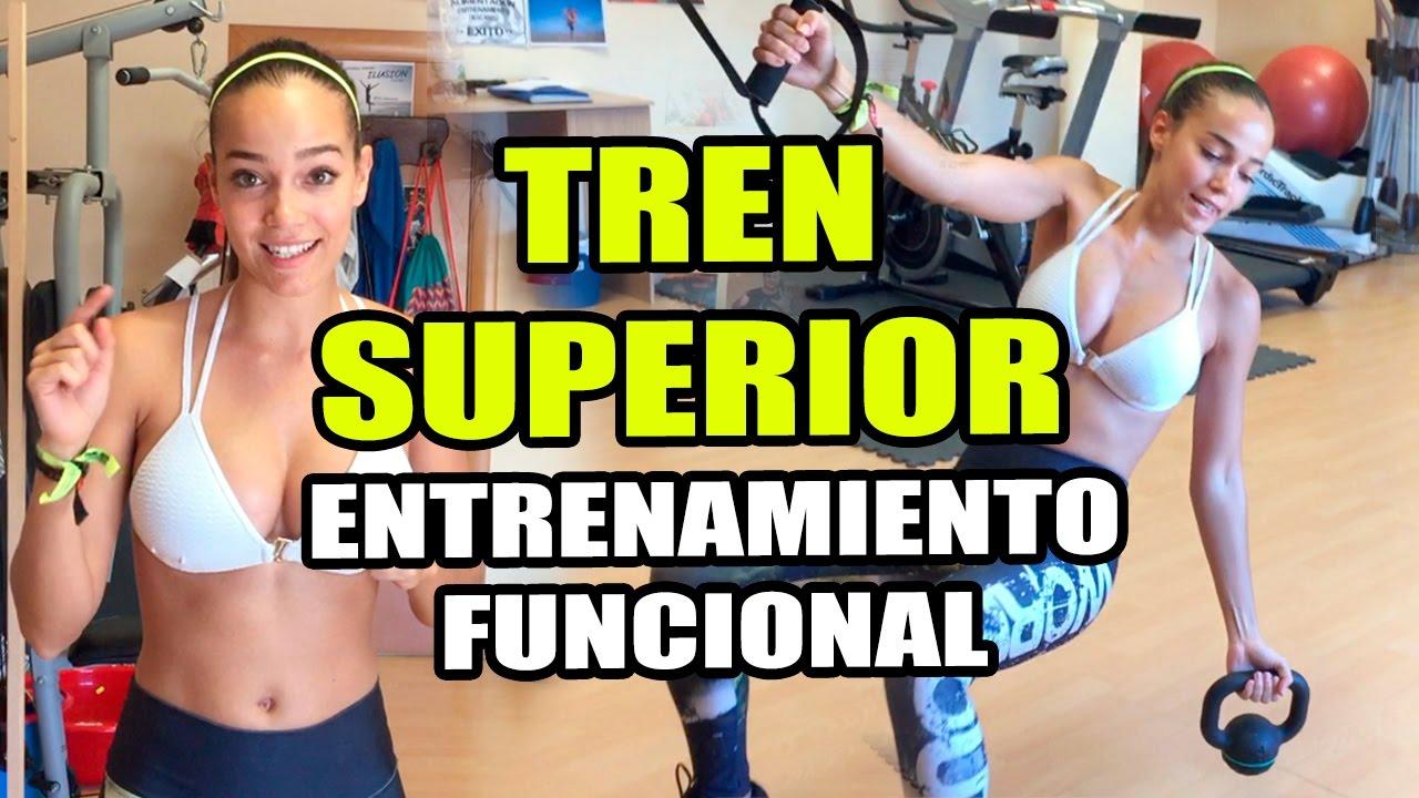 Entrenamiento funcional chicas tren superior brazos for Entrenamiento funcional