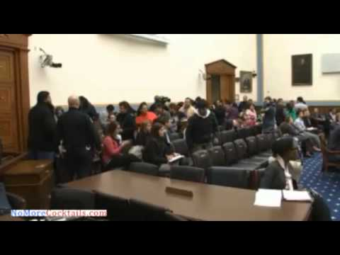 Illegal Immigration activists crash House Hearing on Obama's trampling of the Constitution