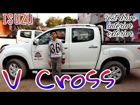 Isuzu V Cross D max 4X4 | Test drive | Review | interior | exterior | Beyond infinity