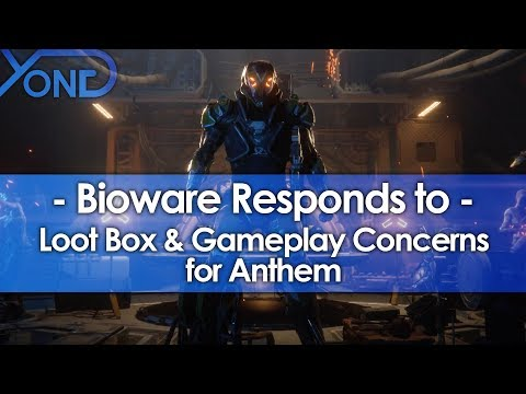 Bioware Responds to Loot Box & Gameplay Concerns for Anthem