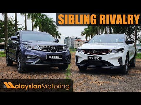 [4K] PROTON X50 vs. PROTON X70 – Sibling Rivalry   Comparison Review