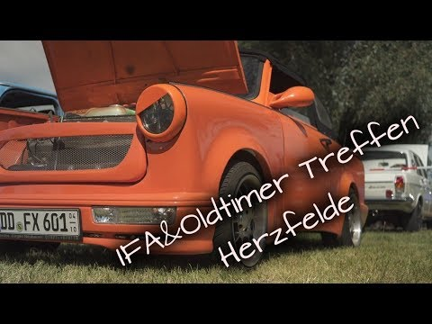 IFA&Oldtimer Treffen Herzfelde/Trabant - Wartburg - Simson