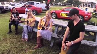 Maddie and Tae at Jax Fairgrounds 2014