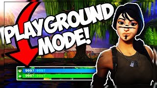 BIGGEST GLITCHES IN PLAYGROUND MODE LTM *FIX THIS* (Fortnite Battle Royale)