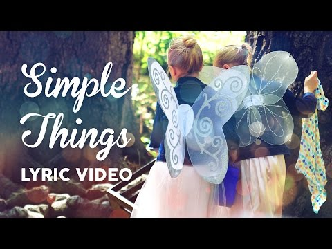 Simple Things | Official Lyric Video | Brooklyn and Bailey