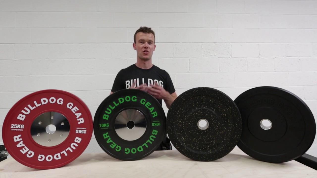 Bulldog gear bumper plates youtube