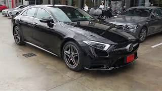 Mercedes-Benz 2018 CLS 300d driving in Bangkok