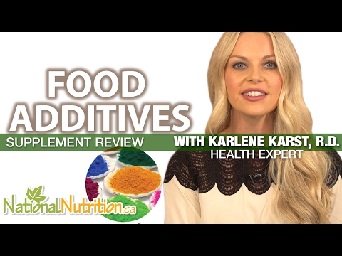 Professional Supplement Review - Food Additives