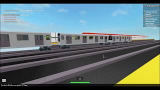 (Roblox/TBT) RARE R110B Un train de parcimonie Flushing Ave