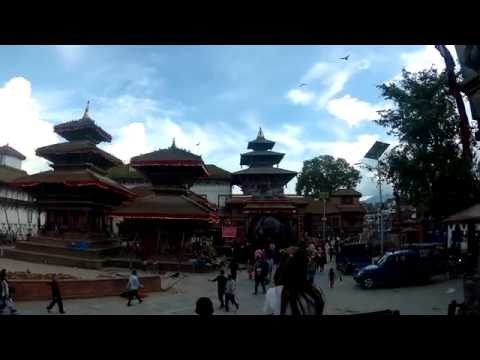 Kathmandu on 4K - Temple city visual tour