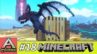 PIXARK - Minecraft Ark #18 - Taming Ghost Dragon - Cách Bắt Rồng Ghost Dragon