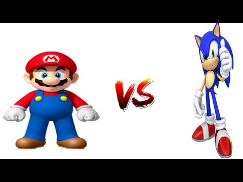 Mario Pissing VS Sonic Shitting