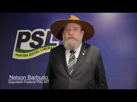 NELSON BARBUDO - PSL NA CÂMARA