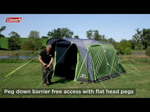 Coleman® Weathermaster 4 Air Tent Pitching