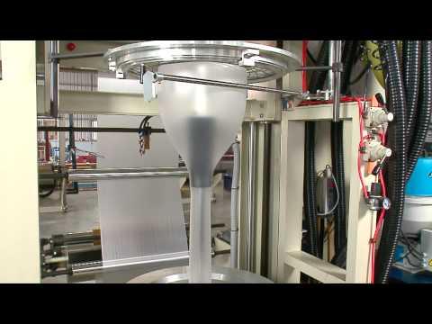 Polystar blown film machine model MB (mini type)